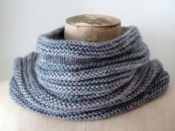 snood en laine : tricoter un snood
